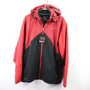New Nike Mens XL Dri Fit Annihilator Jacket Red